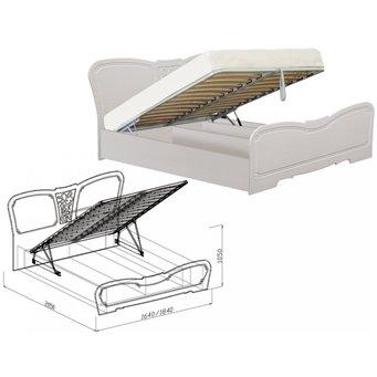 Кровать №1 с подъемным механизмом Тиффани 1600 мм
