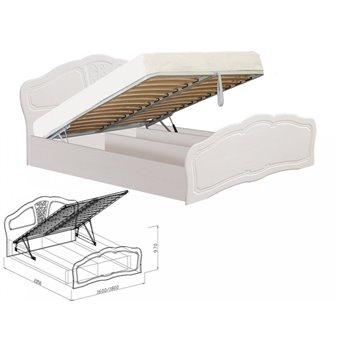 Кровать №2 с подъемным механизмом Тиффани 1600 мм