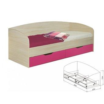 Кровать с ящиками №10 Акварель