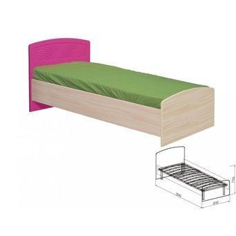 Кровать с основанием №9 Акварель
