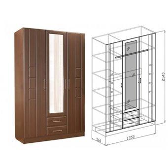 Шкаф 3х-створчатый Палермо (Союз-Мебель)
