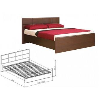 Кровать с основанием 1400мм Палермо (Союз-Мебель)