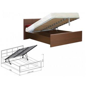 Кровать с подъемным основанием 1400мм Палермо (Союз-Мебель)