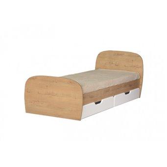 Кровать 0,8 с ящиками №13 Скай