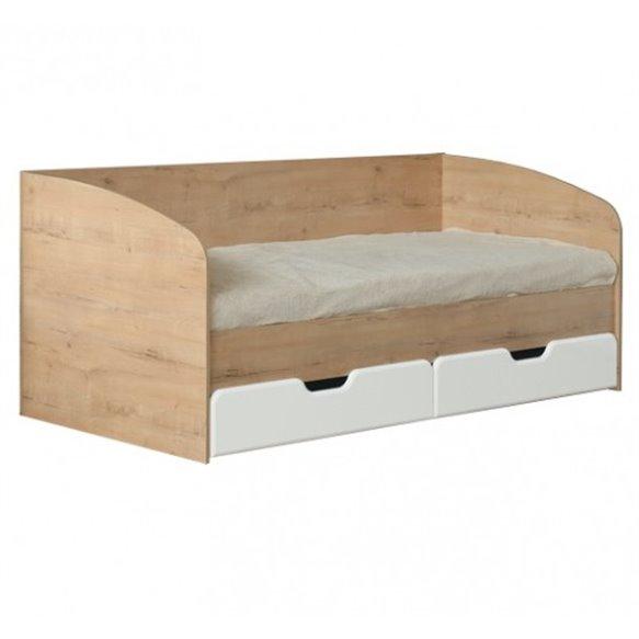 Кровать 0,8 с ящиками №14 Скай