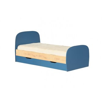 Кровать 0,8 с ящиками №12 Космос