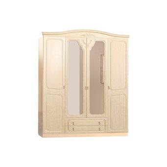Шкаф 4-х дверный Лира