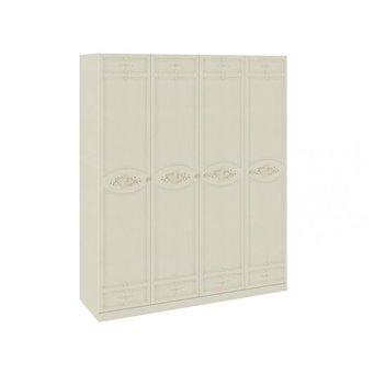 Шкаф для одежды и белья с 4-мя глухими дверями Лорена