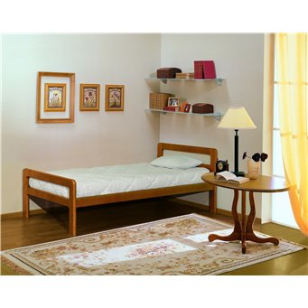 Кровать Массив 900/1200/1400/1600/1800 мм (Элегия)