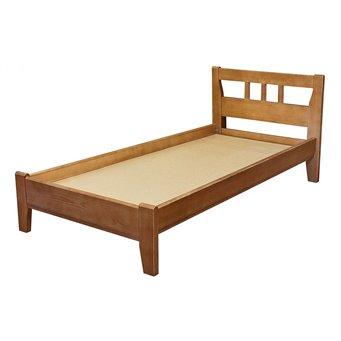 Кровать Массив-2 (маленькая спинка) 900/1200/1400/1600/1800 мм