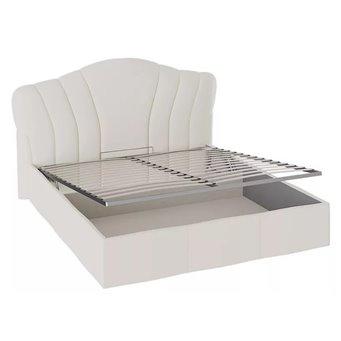 Сабрина ТД-307.01.02 Кровать с мягкой спинкой и ПМ (1600)