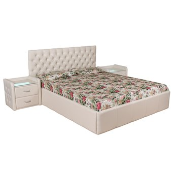 Кровать Италия-1 мягкая 200х200 с подъемным механизмом
