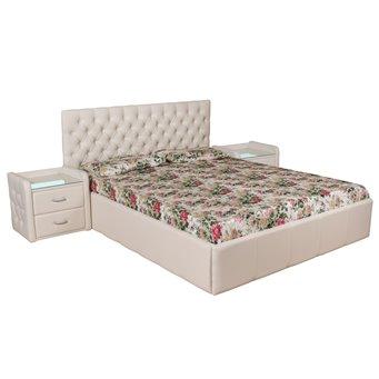 Кровать Палермо мягкая 140х200 с подъемным механизмом