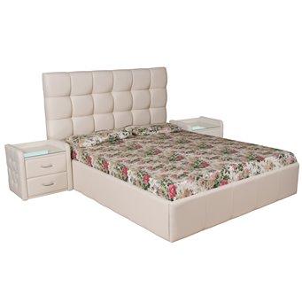 Кровать Капри мягкая 140х200 с подъемным механизмом