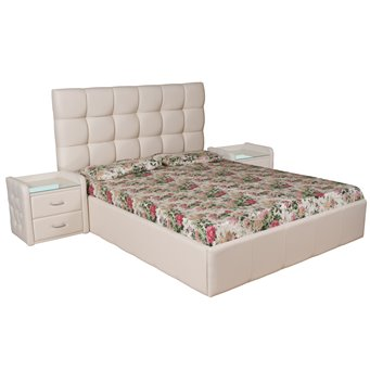 Кровать Капри мягкая 180х200 с подъемным механизмом