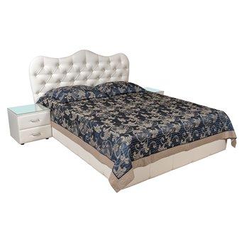 Кровать Италия-9 мягкая 200х200 с подъемным механизмом
