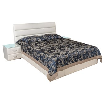 Кровать Сабина мягкая 140х200 с подъемным механизмом