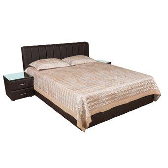 Кровать Италия-11 мягкая 200х200 с подъемным механизмом