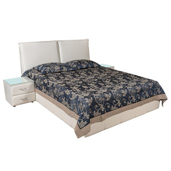 Кровать Италия-12 мягкая 200х200