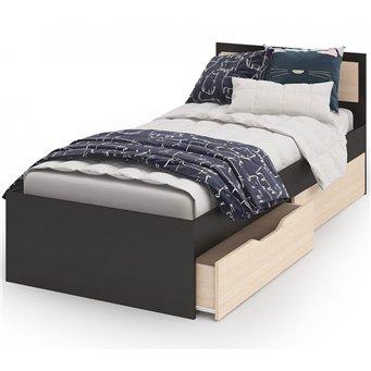 Кровать Гармония с ящиками 90х200