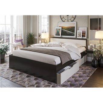 Кровать Гармония с ящиками 140х200