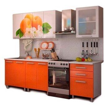 Кухня 1,8м - Персик