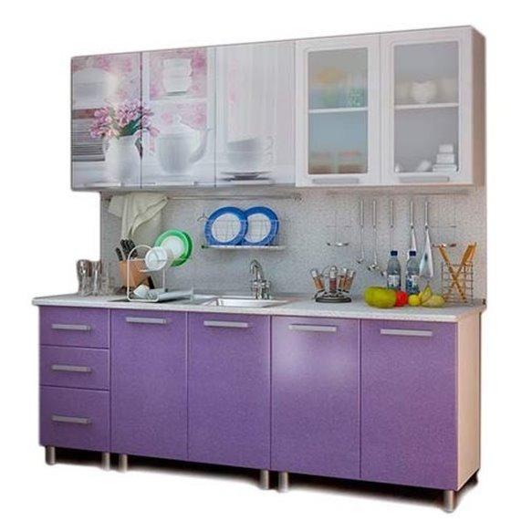 Кухня 2,0м Люкс - Акварель