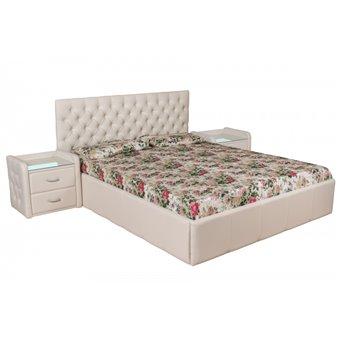 Кровать Италия-1 (Улучшенная) 200х200 с подъемным механизмом