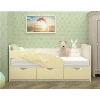 Кровать Дельфин 1,6*0,8м