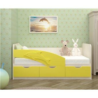 Кровать Дельфин 1,8*0,8м