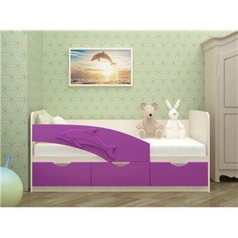 Кровать Дельфин 2,0*0,8м