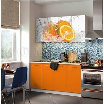 Кухня Фортуна 1,6м Апельсин