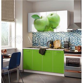 Кухня Фортуна 1,6м Яблоко