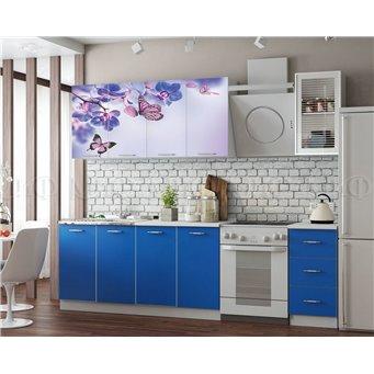 Кухня Фортуна 2,0м Бабочки