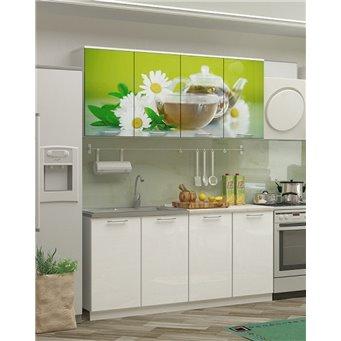 Кухня фотопечать Ванильный чай 1,6м