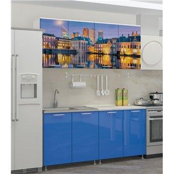 Кухня фотопечать Гаага 1,6м