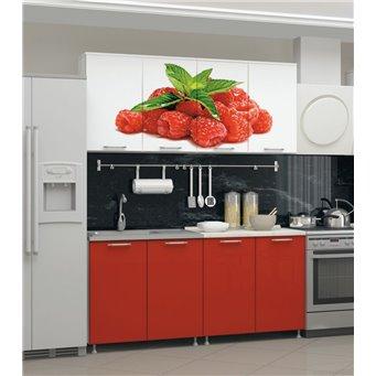 Кухня фотопечать Малина 1,6м