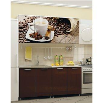 Кухня фотопечать Кофе 1,6м