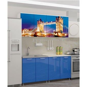 Кухня фотопечать Лондон-1 1,6м