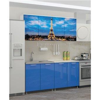 Кухня фотопечать Париж 1,6м