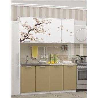 Кухня фотопечать Сакура 1,6м