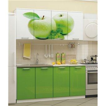 Кухня фотопечать Яблоко 1,6м