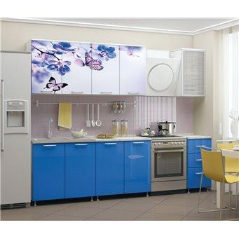 Кухня фотопечать Бабочки 2,0м
