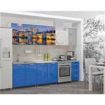 Кухня фотопечать Гаага 2,0м