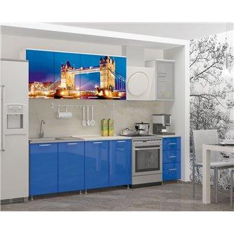Кухня фотопечать Лондон-1 2,0м