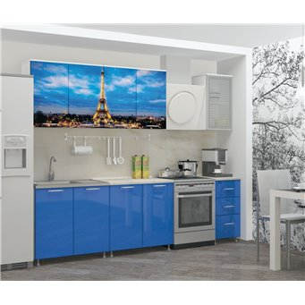 Кухня фотопечать Париж 2,0м