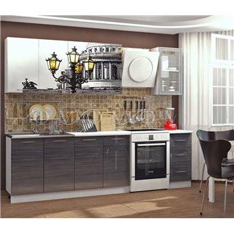 Кухня фотопечать Питер 2,0м
