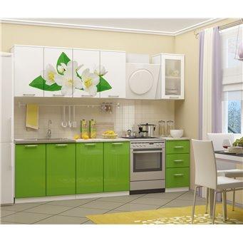 Кухня фотопечать Жасмин 2,0м