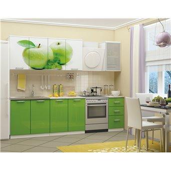 Кухня фотопечать Яблоко 2,0м