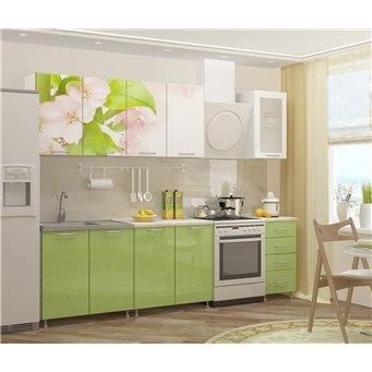 Кухня фотопечать Яблоневый цвет 2,0м